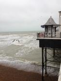 Brighton Pier. Brighton, UK. Ian. 2014. Foto: ©Slowaholic