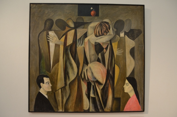 "Enn Põldroos, 1968. ""DANCING PARTY""; oil, tempera. Kumu Museum, Tallinn, Estonia.  Photo: ©Slowaholic"