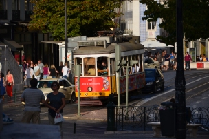 Lisbon tram, Portugal. 2012. Photo: ©Slowaholic