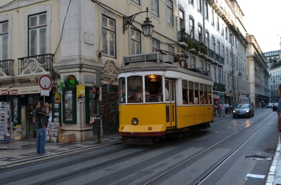 Lisbon tram. Portugal. 2012. Photo: ©Slowaholic
