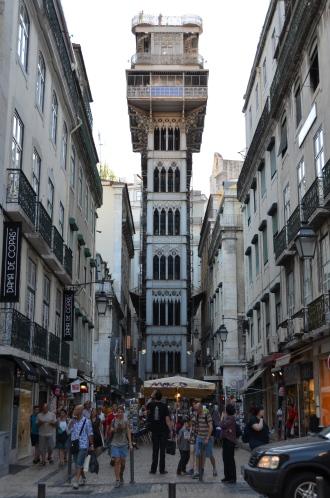 Santa Justa Elevator. Lisbon, Portugal. 2012. Photo: ©Slowaholic