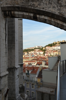 View from the top. Lisbon, Portugal. 2012. Photo: ©Slowaholic