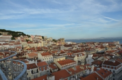 View from the Santa Justa Elevator. Lisbon, Portugal. 2012. Photo: ©Slowaholic