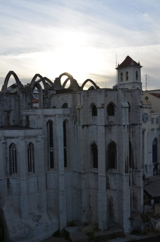 Carmo Convent. Lisbon, Portugal. 2012. Photo: ©Slowaholic