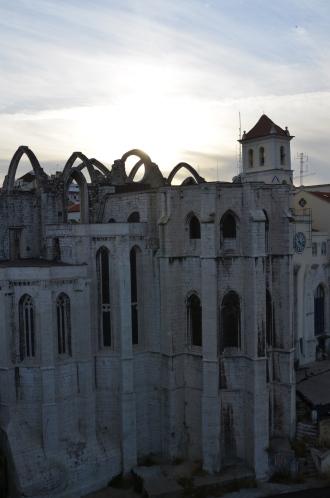 Carmo Convent. Lisbon, Portugal. 2012. Photo: ©Slowaholic