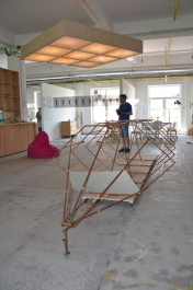 Racheta e aproape gata de lansare. Atelier eematico @ Nod Maker Space. Foto: ©Slowaholic