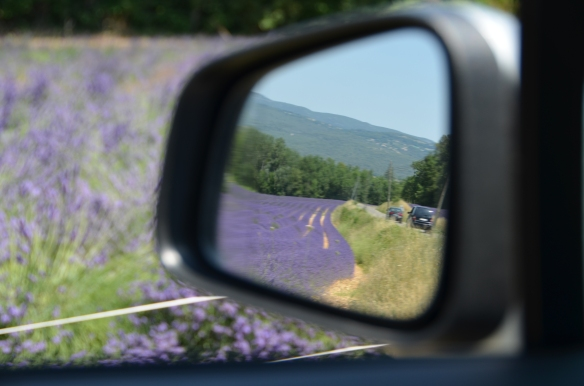 Privind înapoi / Looking back. Provence, France, July 2015. Photo: ©Slowaholic