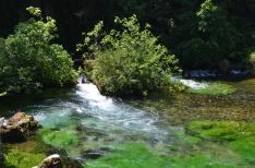 Râul Sorgue. Fontaine de Vaucluse. Foto: ©Slowaholic